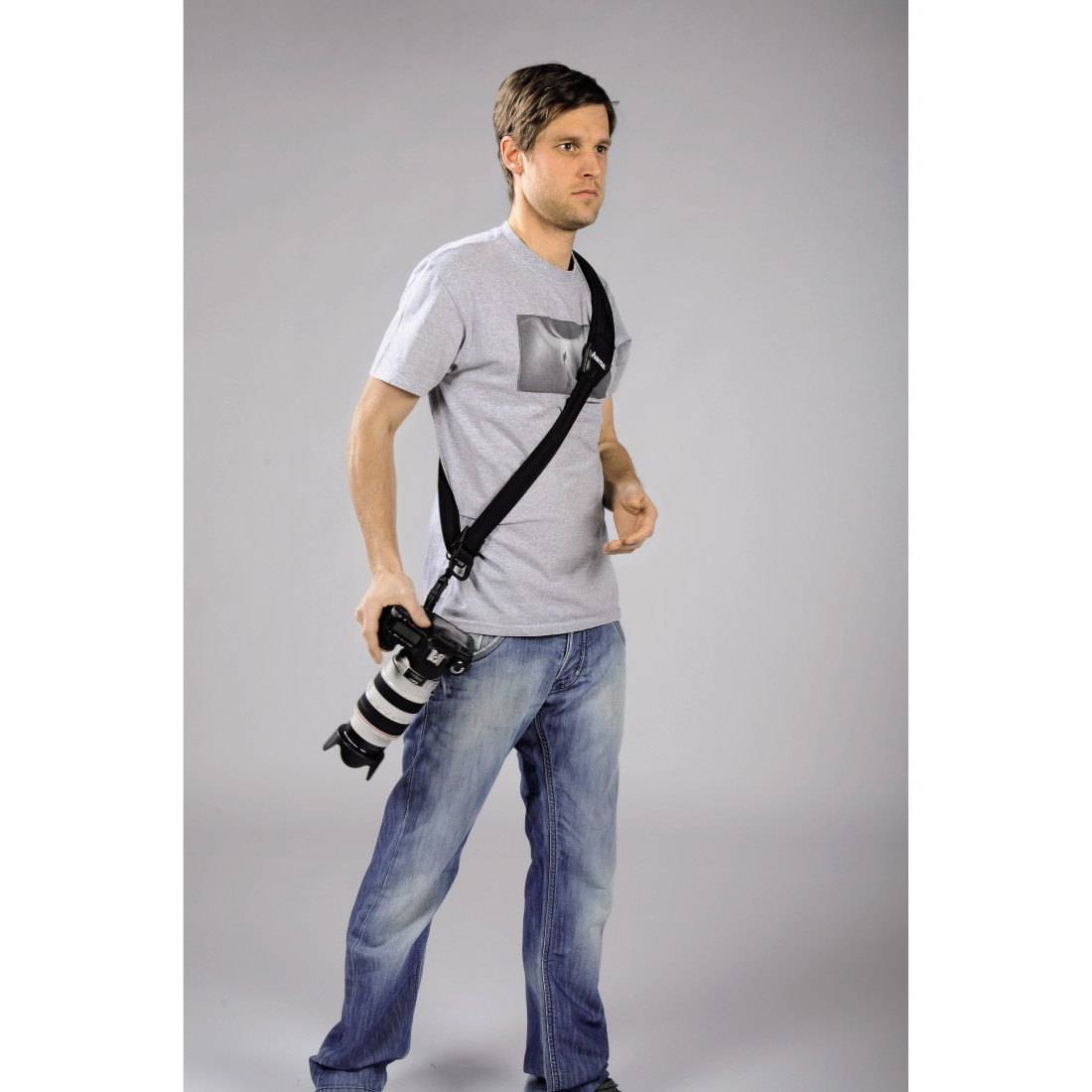"awx High-Res Appliance - Hama, Draagriem ""Quick Shoot Strap"" voor SLR-camera's"