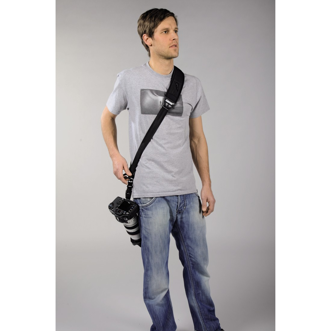 "awx2 High-Res Appliance 2 - Hama, Draagriem ""Quick Shoot Strap"" voor SLR-camera's"