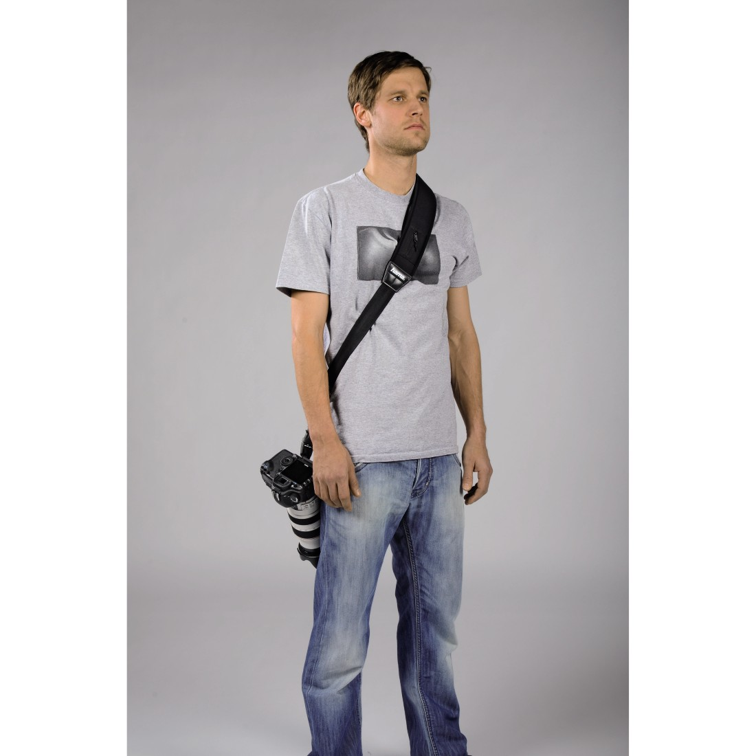 "awx4 High-Res Appliance 4 - Hama, Draagriem ""Quick Shoot Strap"" voor SLR-camera's"