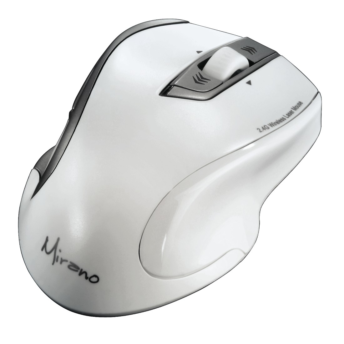 abx High-Res Image - Hama, Mirano Wireless Laser Mouse, noiseless, white