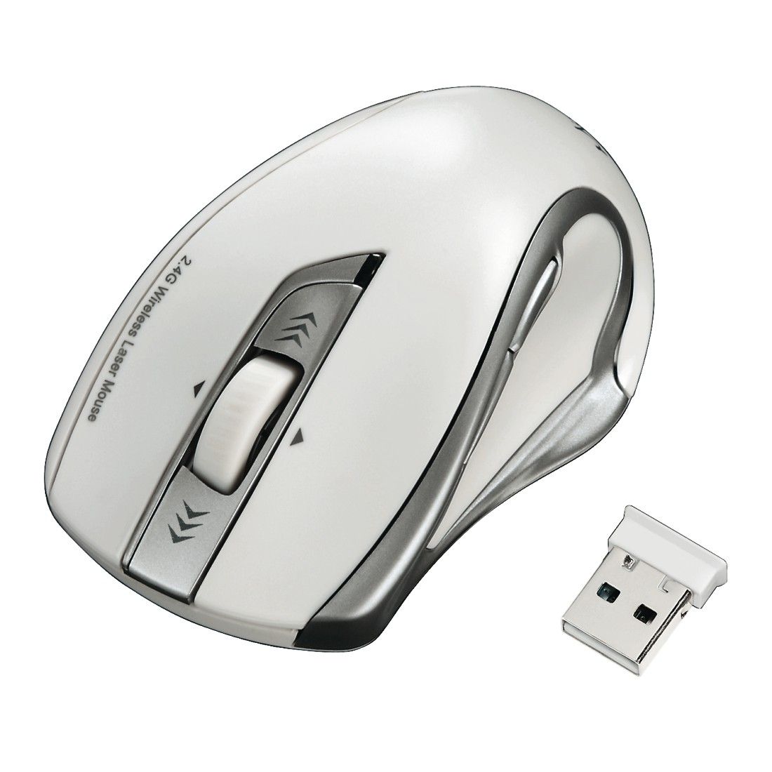 abx2 High-Res Image 2 - Hama, Mirano Wireless Laser Mouse, noiseless, white