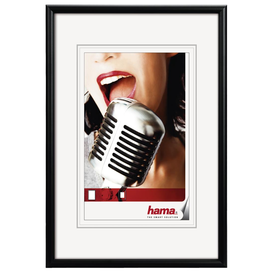 Fotolijst 100 X 50.61084 Hama Fotolijst Alu Chicago Zwart 70x100cm Hama Nv