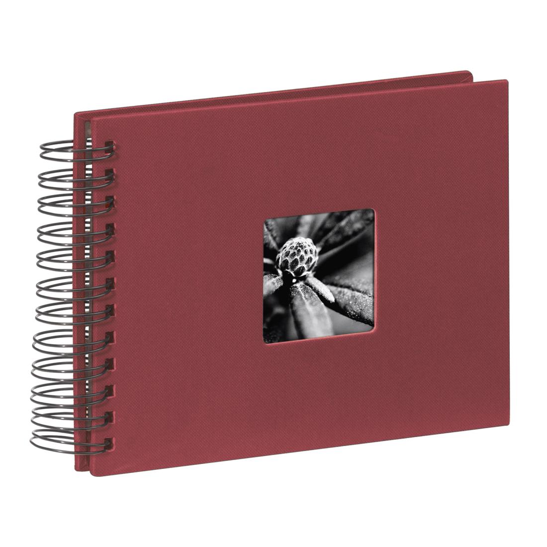 pomme-vert FINE ART spiralbound album 24x17cm 50 Noir Pages