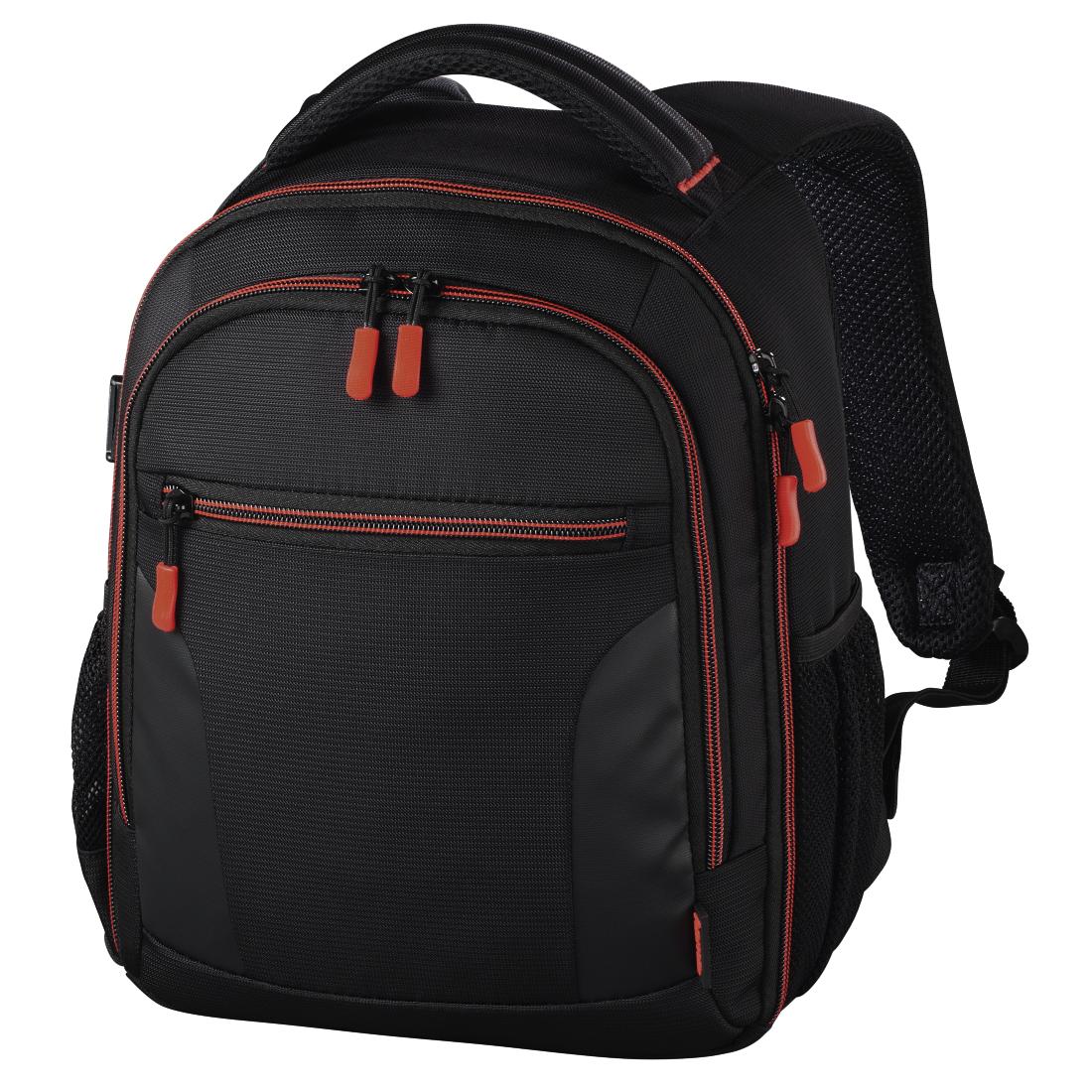 hama nv 139856 hama sac dos de cam ra appareil photo miami 150 noir rouge. Black Bedroom Furniture Sets. Home Design Ideas