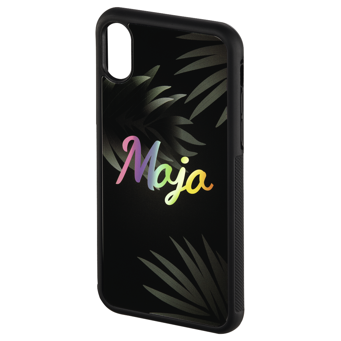 "abx2 High-Res Image 2 - Hama, Cover ""Mojo"" voor Apple iPhone X, zwart"