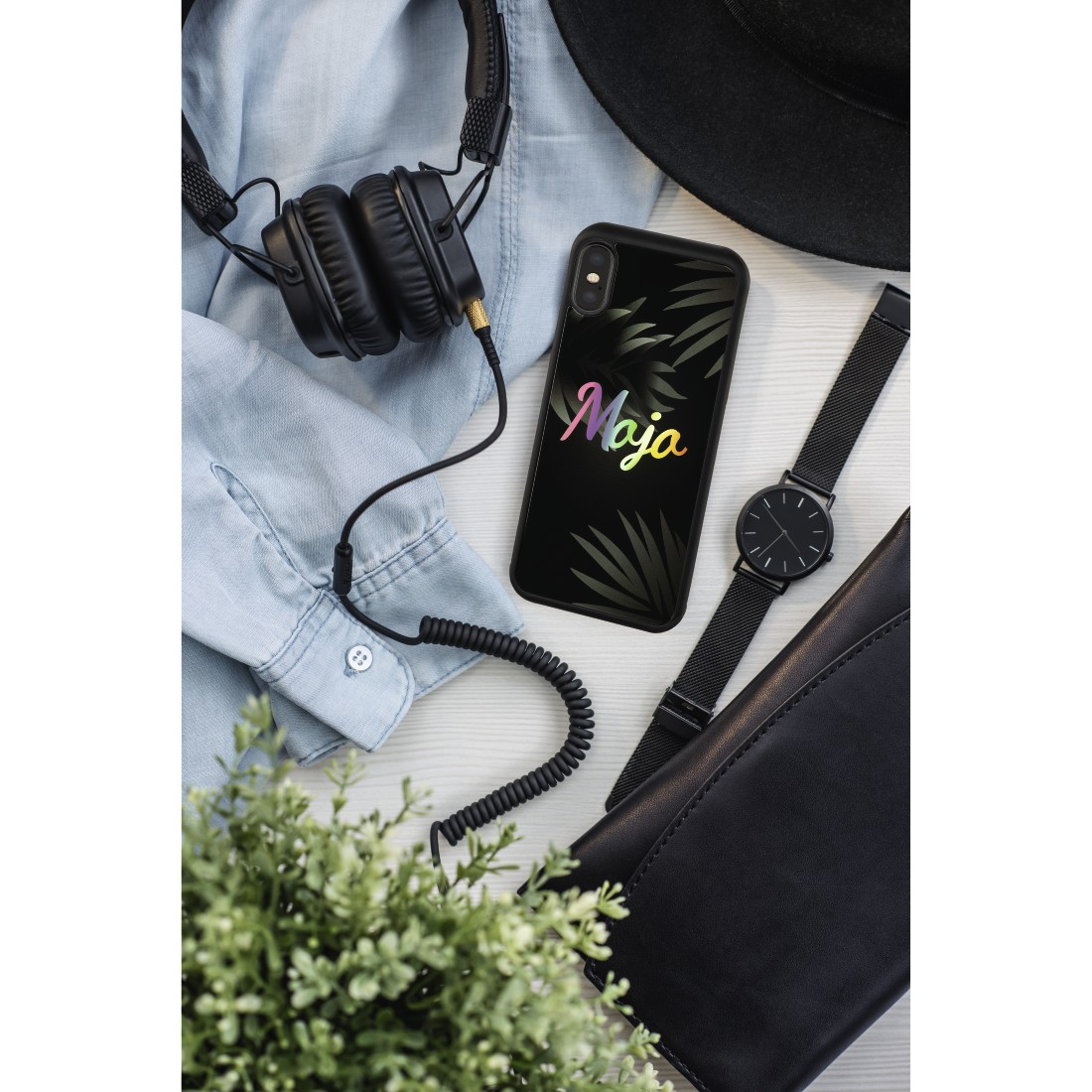 "awx High-Res Appliance - Hama, Cover ""Mojo"" voor Apple iPhone X, zwart"