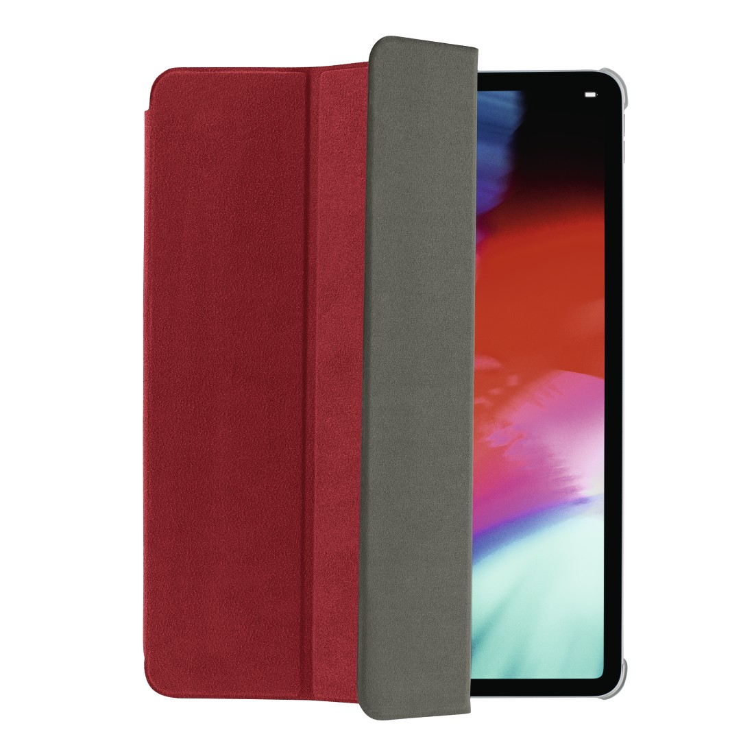 "abx High-Res Image - Hama, Tablet-case ""Suede Style"" voor Apple iPad Pro 11"", rood"