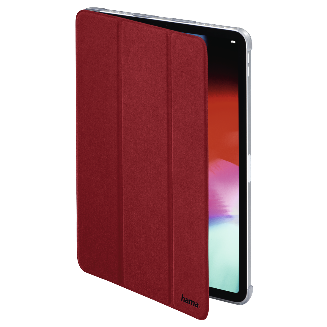 "abx2 High-Res Image 2 - Hama, Tablet-case ""Suede Style"" voor Apple iPad Pro 11"", rood"