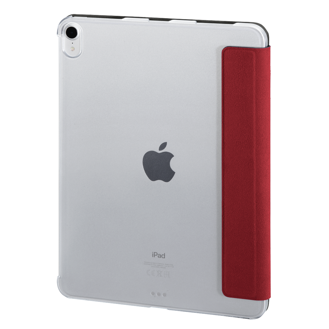 "abx5 High-Res Image 5 - Hama, Tablet-case ""Suede Style"" voor Apple iPad Pro 11"", rood"