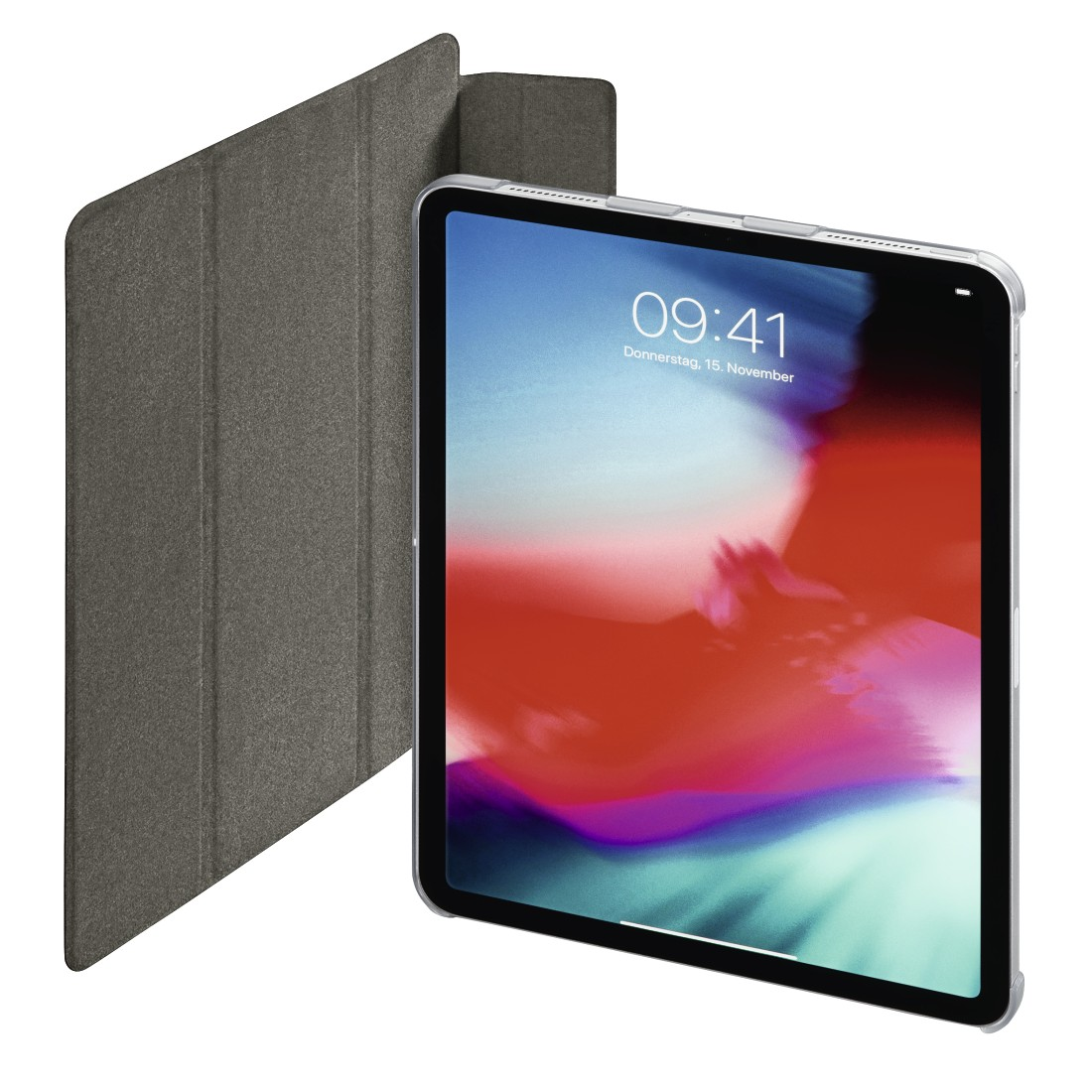 "abx6 High-Res Image 6 - Hama, Tablet-case ""Suede Style"" voor Apple iPad Pro 11"", rood"