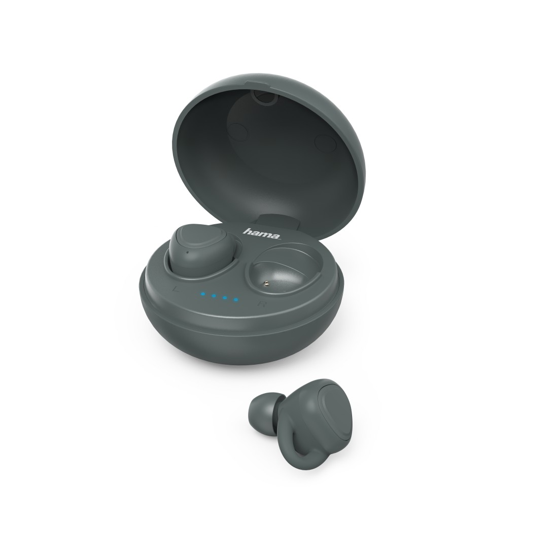 "abx High-Res Image - Hama, Bluetooth®-koptelefoon ""LiberoBuds"", in-ear,true wireless,oplaadstat.,groen"
