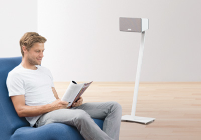 Muurbeugels en speaker stands voor Sonos speakers