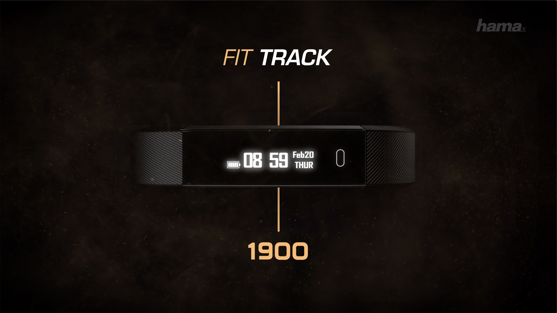 "Hama ""Fit Track 1900"" Fitness Tracker"